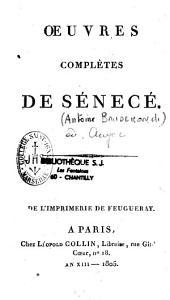 Oeuvres complètes de Sénecé