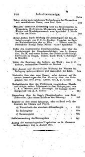 Journal für Chemie und Physik: Band 3