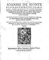Tabulae Directionum et Profectionum