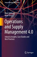 Operations and Supply Management 4 0 PDF