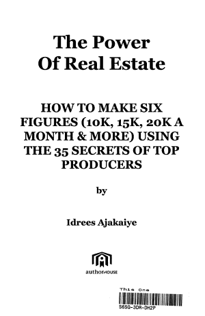 The Power of Real Estate