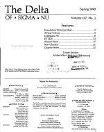 The Delta of Sigma Nu