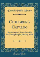 Children's Catalog