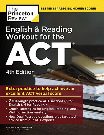 English and Reading Workout for the ACT  4th Edition PDF