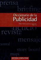Diccionario de la publicidad PDF