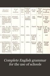 Complete English Grammar for the Use of Schools PDF