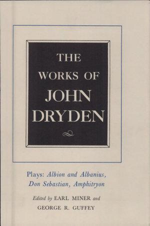 The Works of John Dryden, Volume XV
