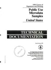 1990 Census of Population and Housing: Public Use Microdata Samples, United States : Technical Documentation, Volume 3