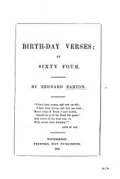 Birthday Verses; at sixty four