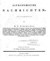 Astronomische Nachrichten: Volume 10