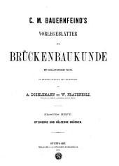 Vorlegeblätter zur Brückenbaukunde: Band 2