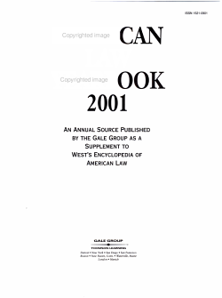 American Law Yearbook 2001 PDF