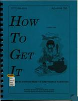 How to Get it PDF