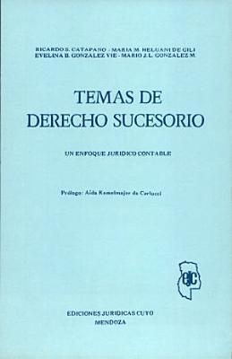 Temas de derecho sucesorio PDF