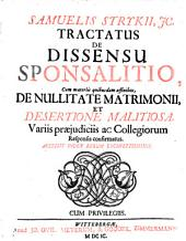 Tractatus de dissensu sponsalitio