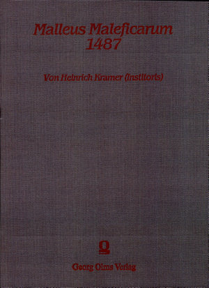 Malleus Maleficarum 1487  Hexenhammer  PDF