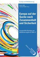Europa auf der Suche nach Zusammenhalt und Sicherheit PDF