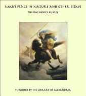Man's Place in Nature and Other Essays