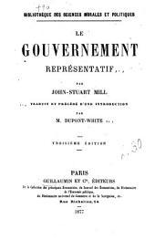 Le gouvernement représentatif