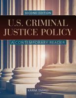 U S  Criminal Justice Policy PDF