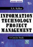 Information Technology Project Management A Concise Study 2Nd Ed  PDF