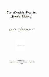 The Messiah Idea in Jewish History