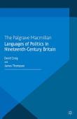 Languages Of Politics In Nineteenth Century Britain