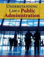 Understanding Law for Public Administration PDF