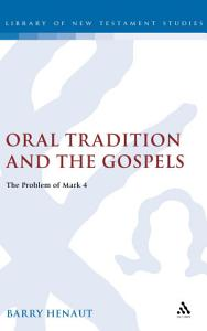 Oral Tradition and the Gospels PDF