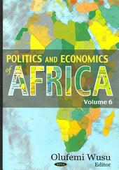 Politics and Economics of Africa: Volume 6