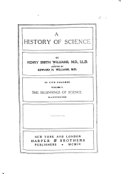 The beginnings of science