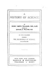 The beginnings of science