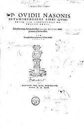 P. Ovidii Nasonis methamorpheos libri quindecim