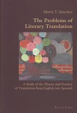 The Problems of Literary Translation PDF