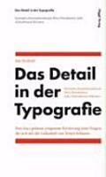 Das Detail in der Typografie PDF