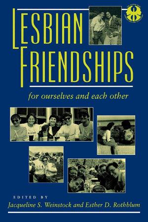 Lesbian Friendships PDF