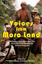 Voices From Moro Land Book PDF