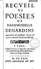 Oeuvres de Mademoiselle Desjardins...