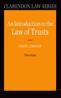 An Introduction to the Law of Trusts PDF