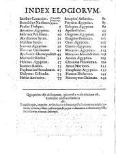 Illustrium anachoretarum elogia siue Religiosi viri musaeum auctore Iacobo Cauacio Patauino, monaco Congregationis Casinensis