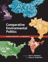 Comparative Environmental Politics PDF