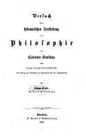 Versuch einer systematischen Darstellung der Philosophie des Carolus Bovillus PDF