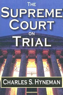 The Supreme Court on Trial PDF
