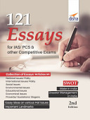 121 Essays For Ias Pcs Other Competitive Exams 2nd Edition