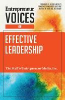 Entrepreneur Voices on Effective Leadership PDF