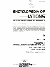 Encyclopedia of Associations PDF