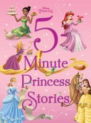 Disney Princess 5 Minute Princess Stories Book PDF