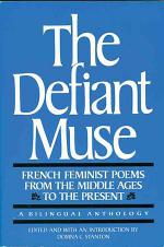 French Feminist Poems from the Middle Ages to the Present