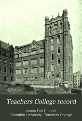 Teachers College Record