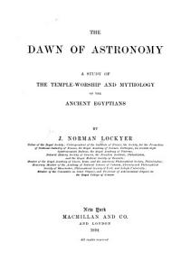 The Dawn of Astronomy PDF